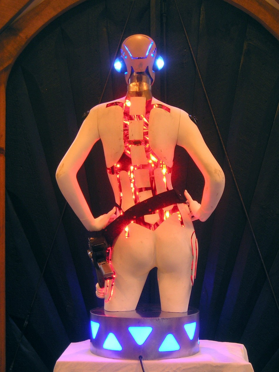 Robot Girl by Mark Robert Ricci