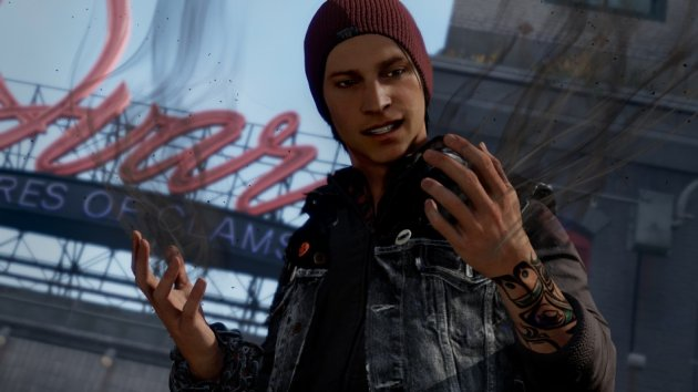 Infamous: Second Son on PS4