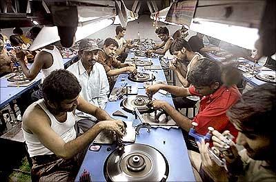 Mumbai workers