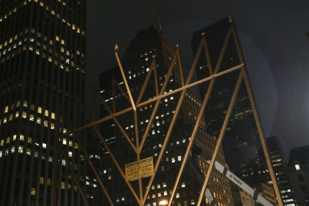 Menorah in New York