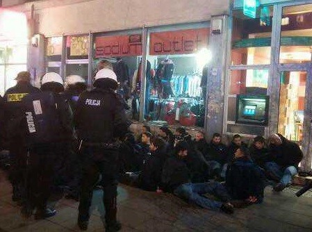 120 Lazio fans detained