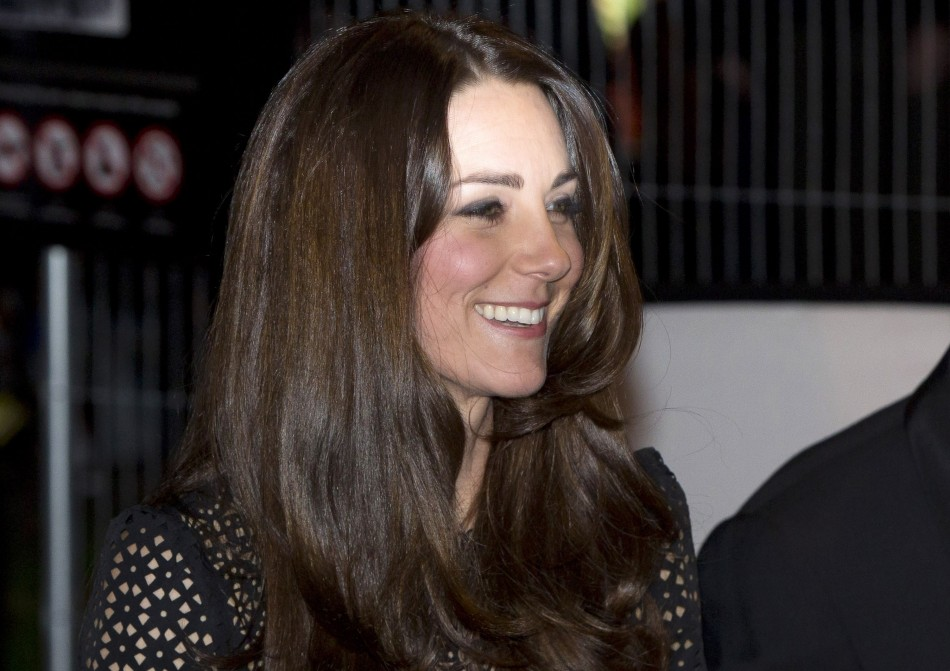 Kate Middleton at SportsAid gala dinner
