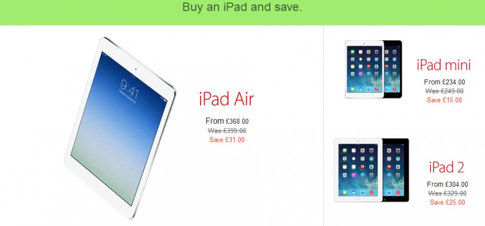 Apple ipod deals uk