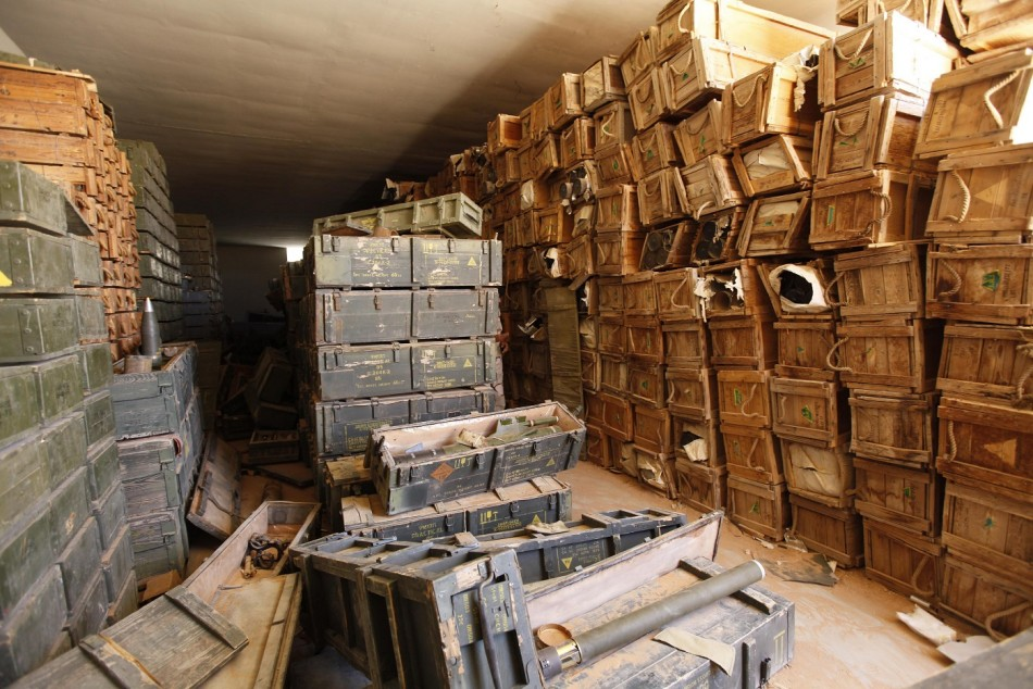 Libya ammunition depot blast