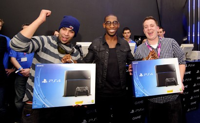 PS4 UK Launch with Tinie Tempah