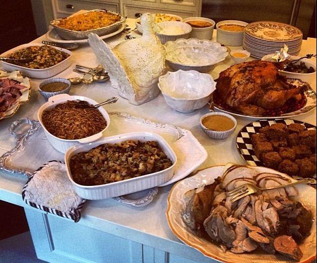 thanksgiving turkey honey baked ham