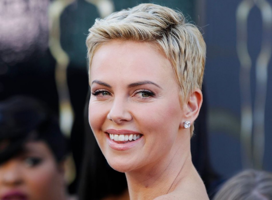 South African actress Charlize Theron was reportedly getting close with American actor Luke Grimes. (Reuters)