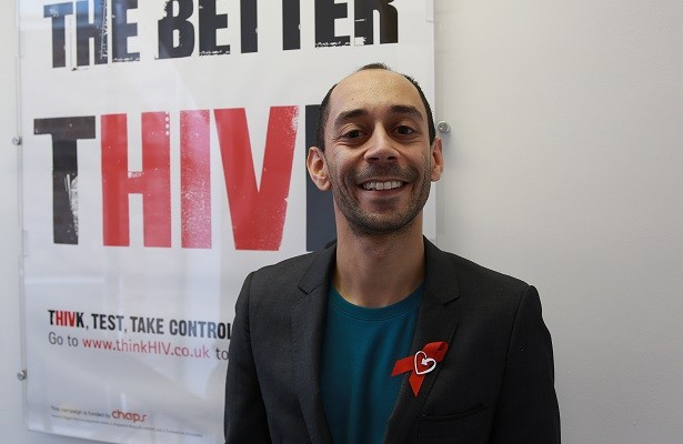 Ant Babajee, who is now a patron of the Terrence Higgins Trust PIC: IBTimes.co.uk
