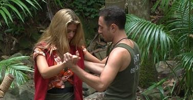 Amy Willerton and Vincent Simone