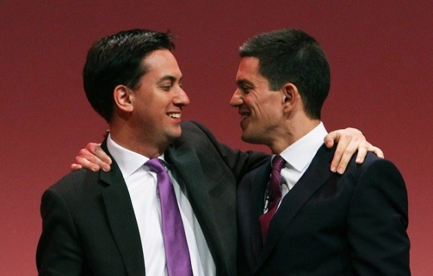 In an intimate interview Ed Miliband revealed that his relationship his brother, former Labour MP David, is only just healing. (Reuters)