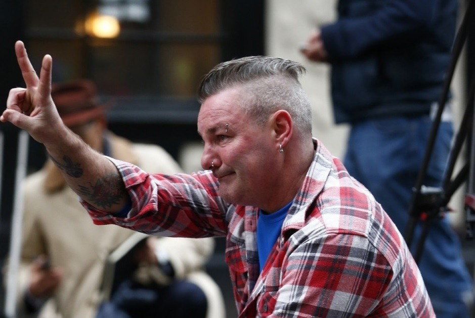 Glasgow pub crash