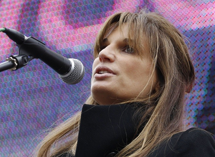 Jemima Khan is among several high-profile personalities who have written an open letter criticising Israeli plans to evict Palestinian Bedouins from their land. (Reuters)