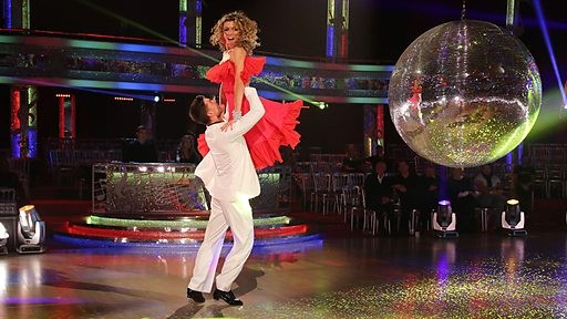 Abbey Clancy on Strcitly Come Dancing