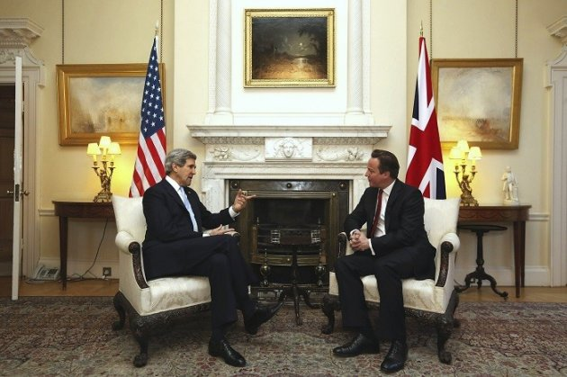 Britain is holding secret talks with Washington and Hezbollah in an attempt to welcome Iran back into the international community. (Reuters)