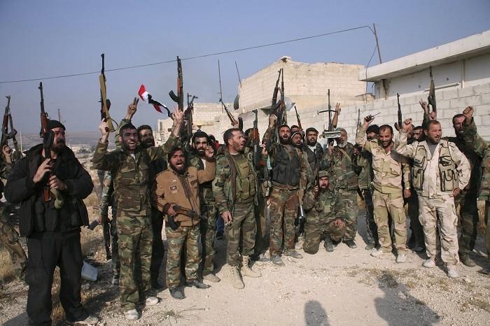 Anti-Assad forces