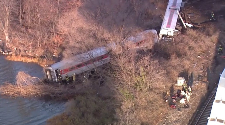 Bronx Train Crash