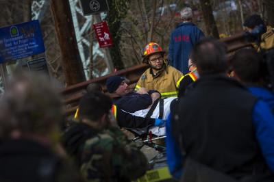 Bronx train crash
