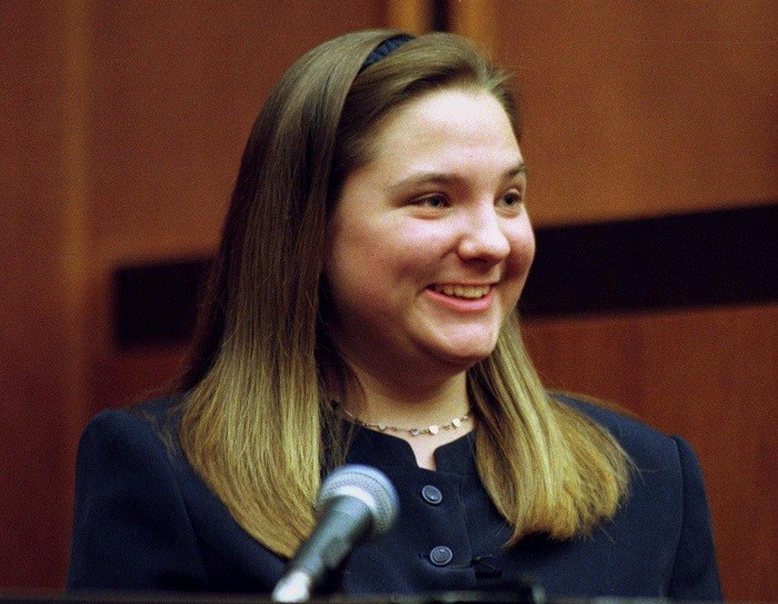 Louise Woodward is expecting a child of her own after being jailed for the murder of baby Mathew Eappen in 1997. (Reuters)