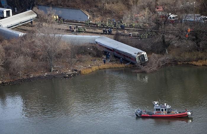 Bronx rail crash