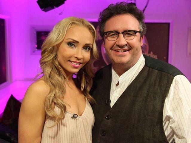 Mark Fenton and Dance Partner Iveta Lukosiute