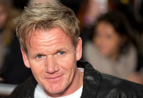 """Chef Gordon Ramsey attends the world premiere of the film """"The Class of 92"""" in London"""