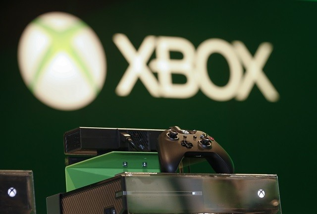 Xbox One console at the Microsoft Games exhibition in Gamescom, 2013