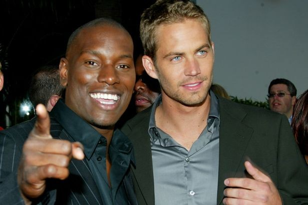 Tyrese Gibson and Paul Walker