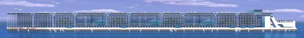 Freedom Ship: The $10 Billion Floating City