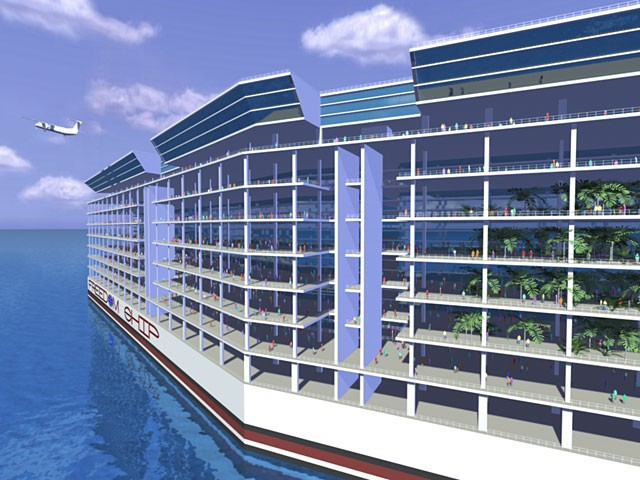 Freedom Ship: The $10 Billion Floating City