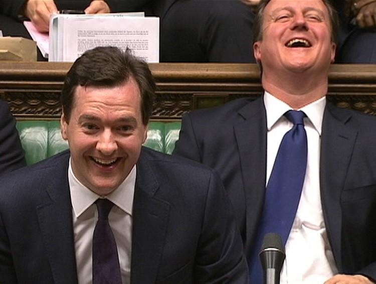 George Osborne David Cameron