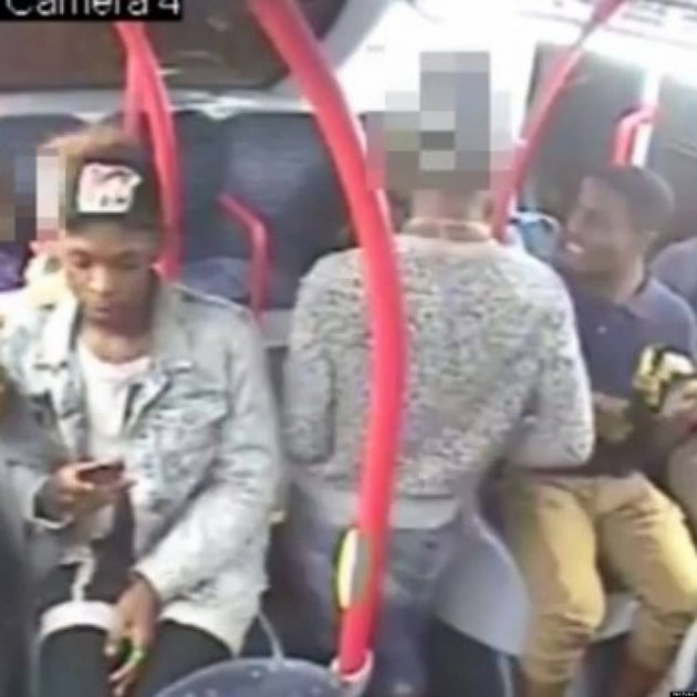 Woman Kicked In Stomach On London Bus