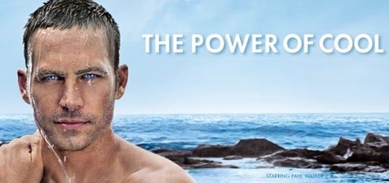 Paul Walker was the face of Cool Water for a number of years