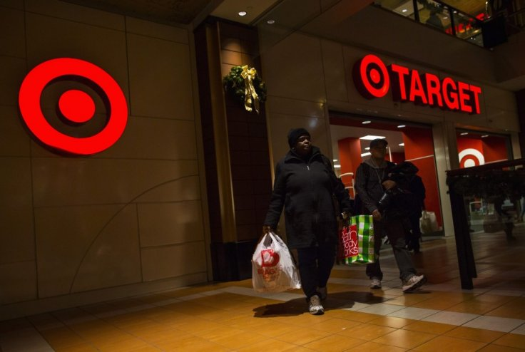 People shop at a Target store during Black Friday sales in the Brooklyn borough of New York, November 29, 2013.