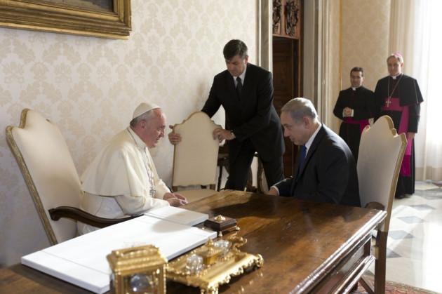 Pope Francis Netanyahu
