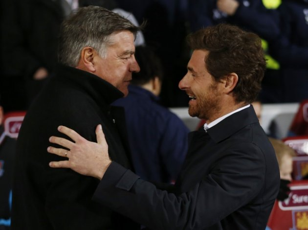 Sam Allardyce and Andre Villas-Boas