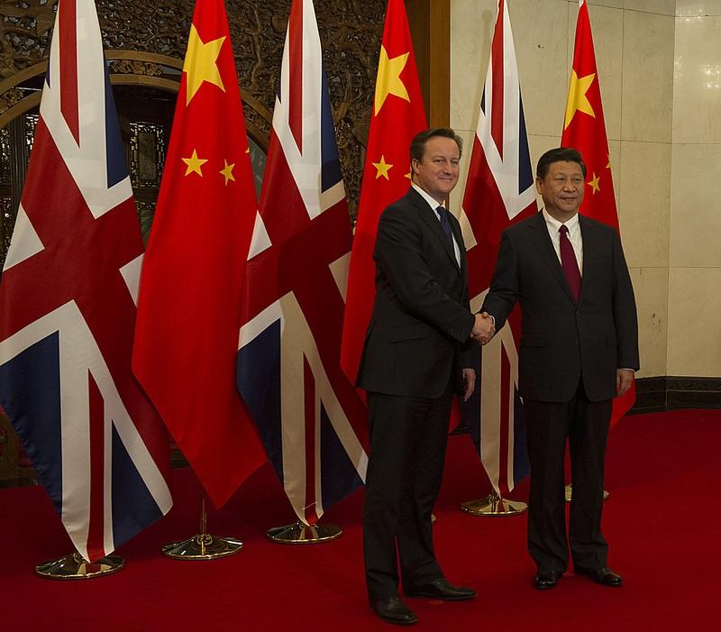 David Cameron Xi Jinping