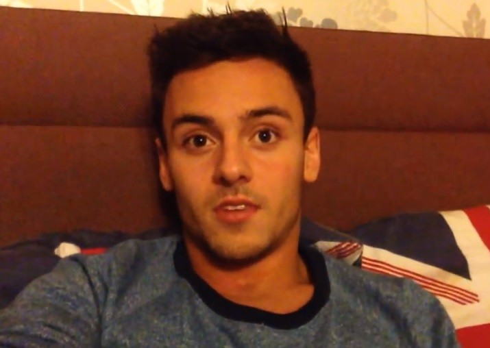 "Tom Daley's brave video has left grandparents Rosemary and Daiv ""confused"" PIC: YouTube"