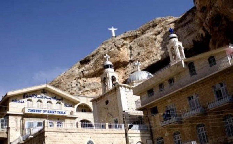 Saint Tecla Maaloula Syria