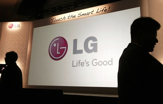 LG Conference at CES 2013.