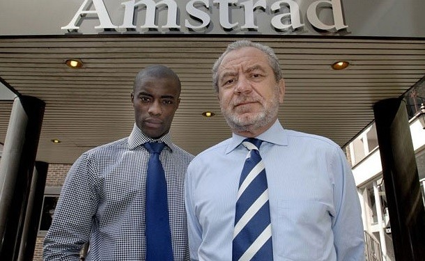 Tim Campbell and Alan Sugar