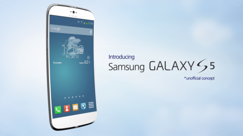 Concept Image Of Samsung Galaxy S5