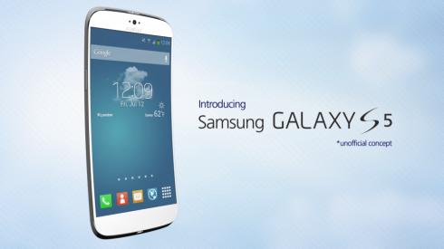 Concept Image Of Samsung Galaxy S5