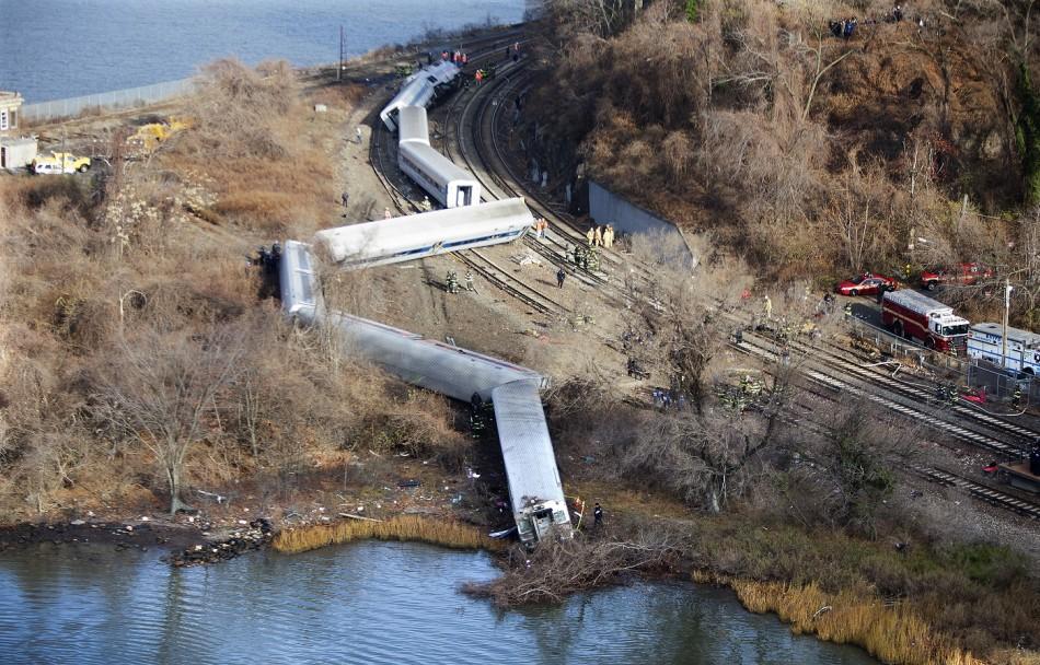 New york train driver nod crash