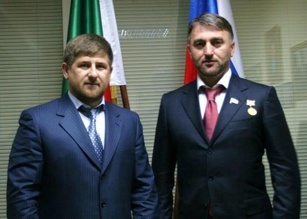 Delimkhanov Kadyrov golden gun