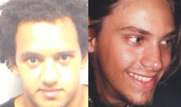 Karl Addo (L) pleaded guilty to the manslaughter of Sergio Marquez (Dorset Police)