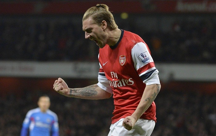 Nicklas Bendtner Arsenal