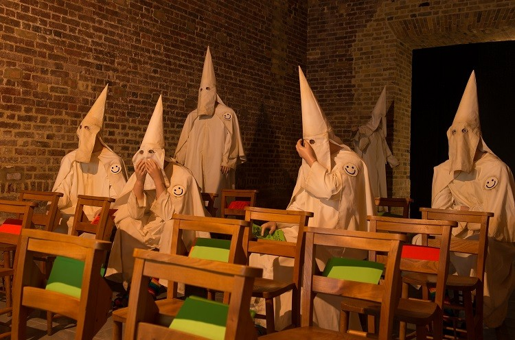 36 Ku Klux Klan Find Refuge In Central London S Hyde Park