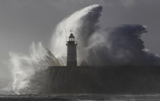 Wind surges could push sea levels could be as high floods of 1953 (Reuters)