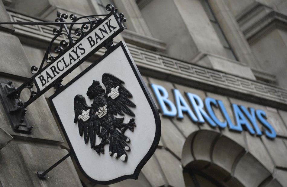 A Barclays branch in central London