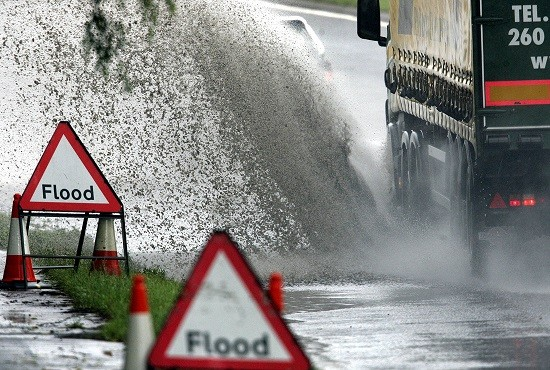 There are also around 15 flood warnings issued across Scotland (Reuters)